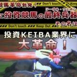 ◆競馬司会者+競馬ブロガーから大本命◎【投資KEIBA】三連単・三連複万馬券予想ソフト:HAYABUSA DERBYII<ハヤブサ・ダービーII>LD